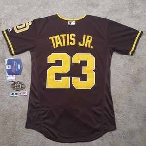 Tatis Jr Padres Brown Stitched Jersey New Mens